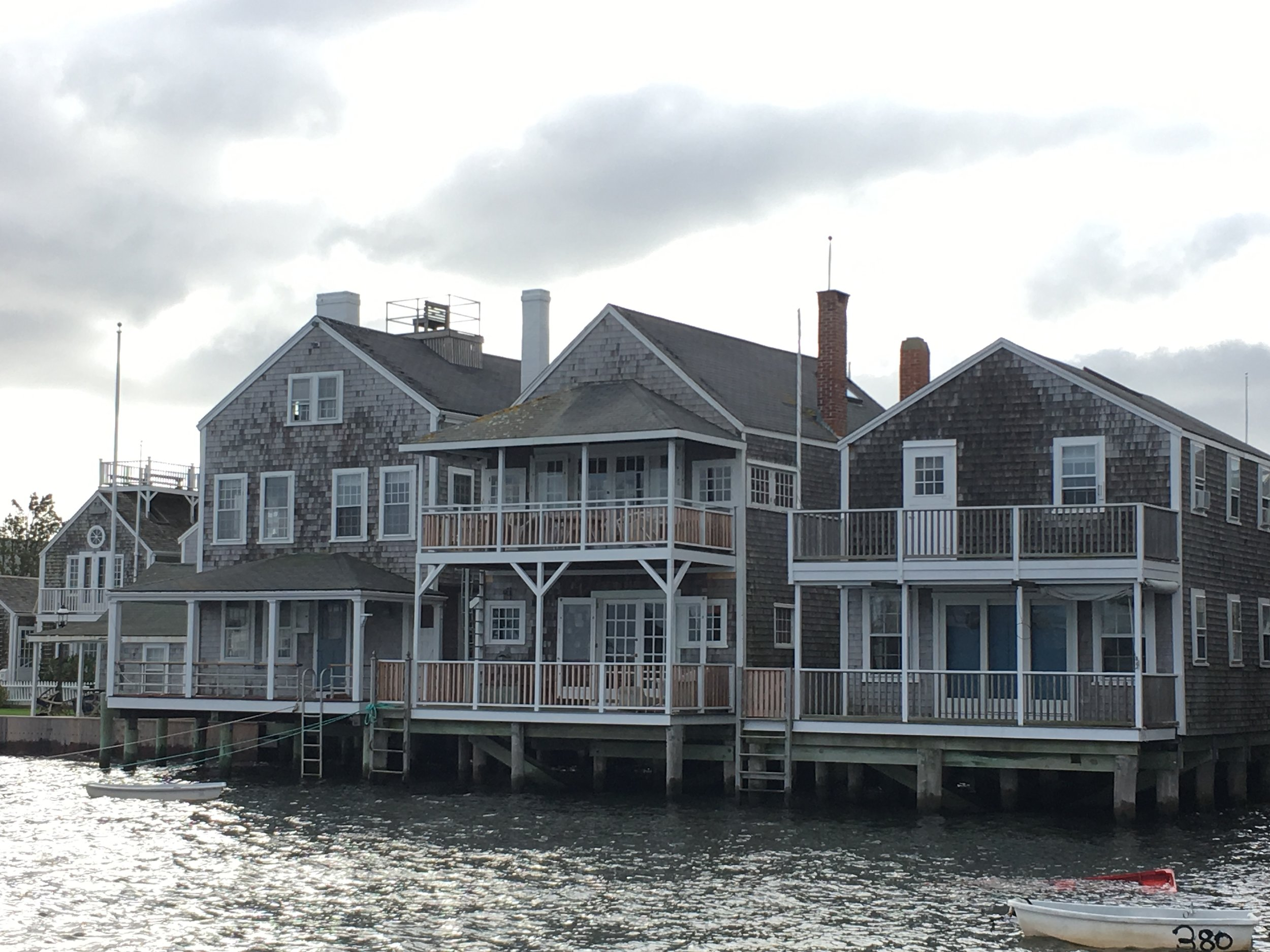 Nantucket Houses on the Water