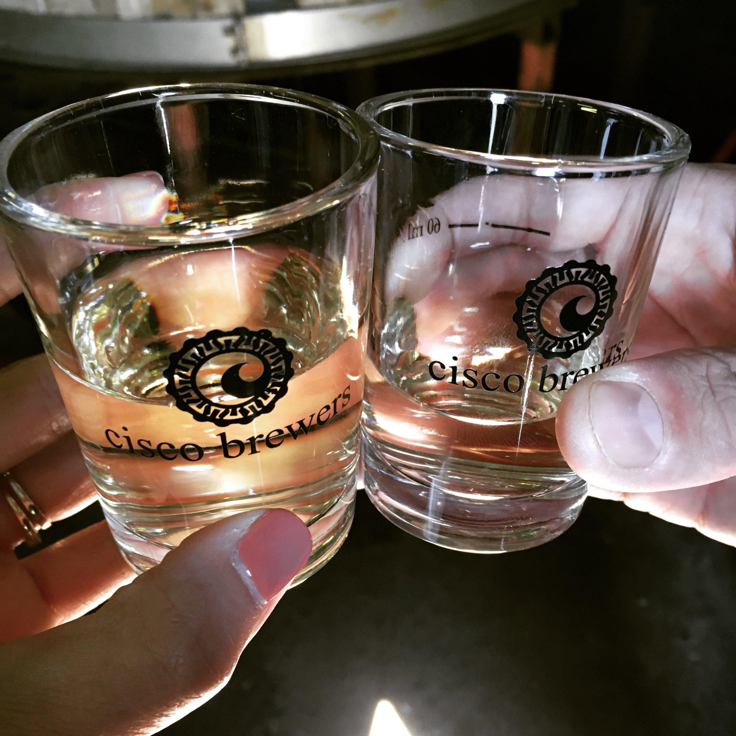 Cisco Brewery Tour