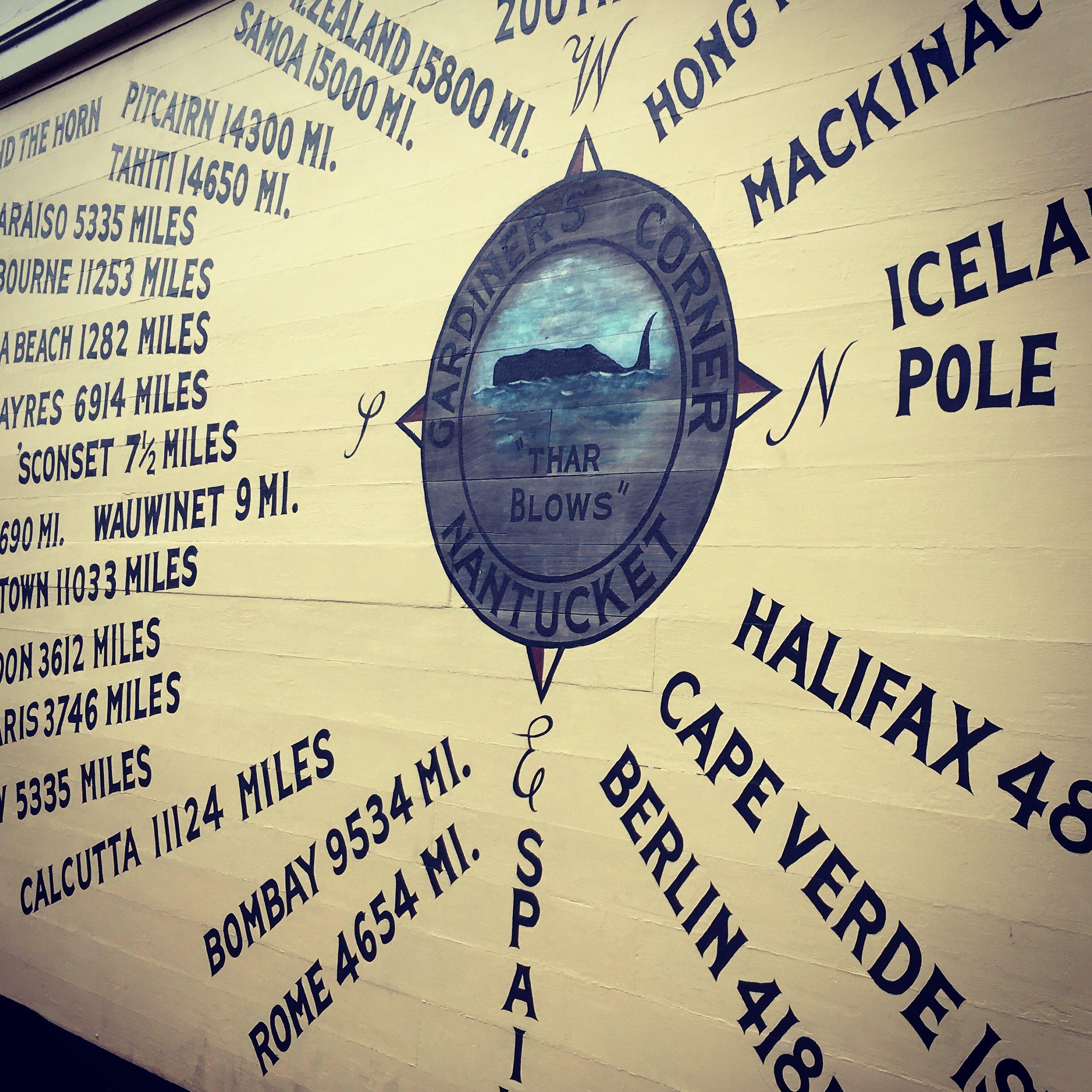 Nantucket Main Street Map
