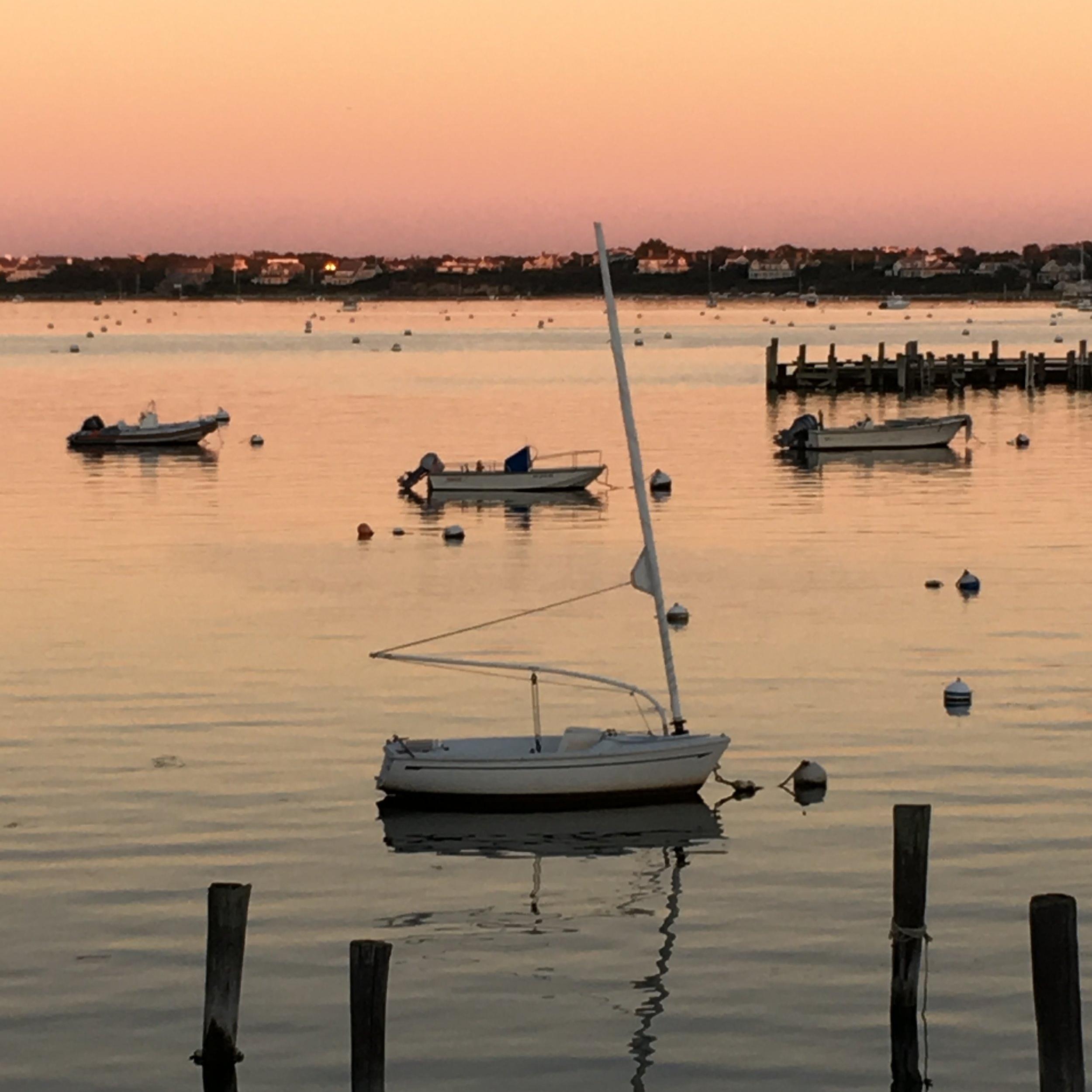 Sunset Over Nantucket Harbor