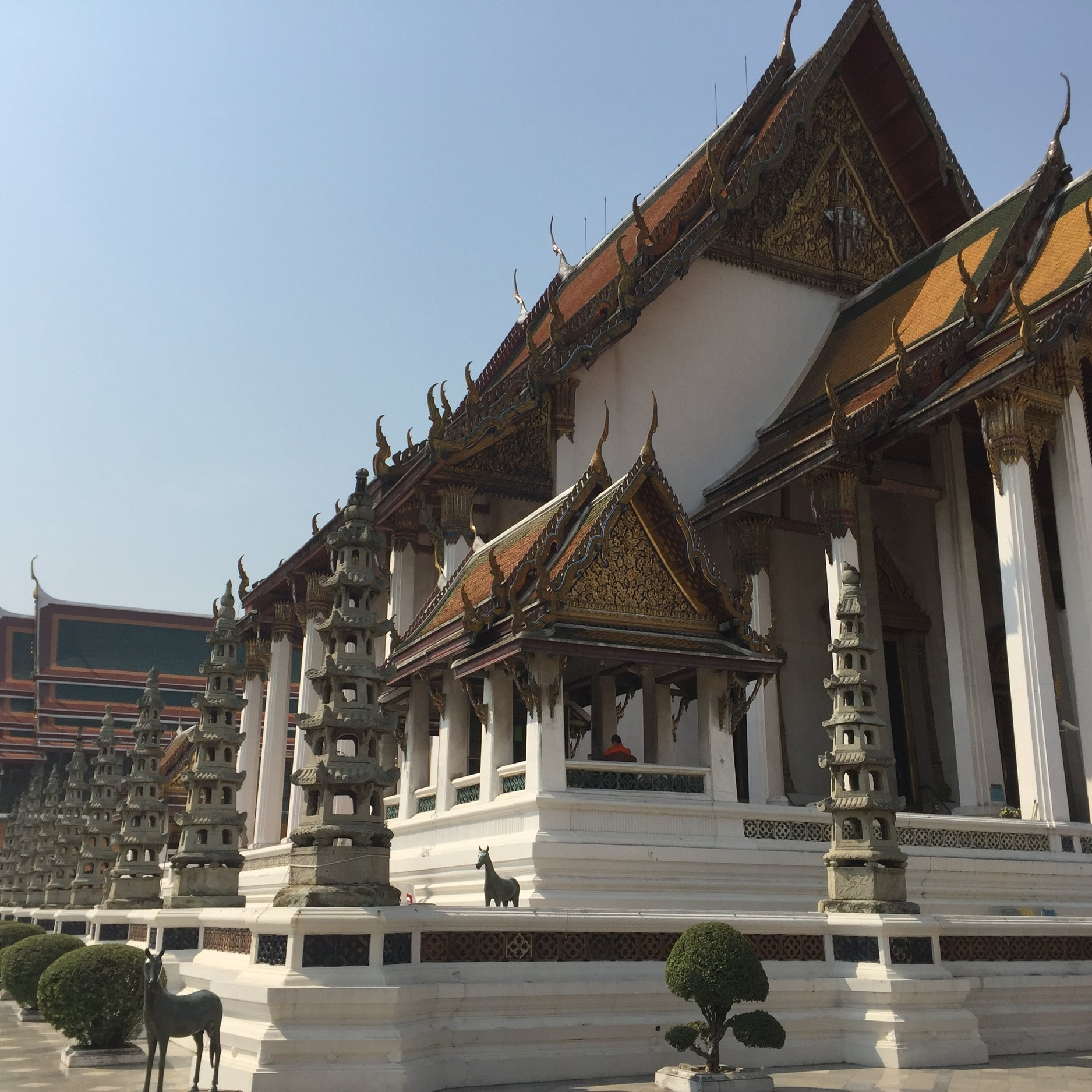 Best temples in old city Bangkok