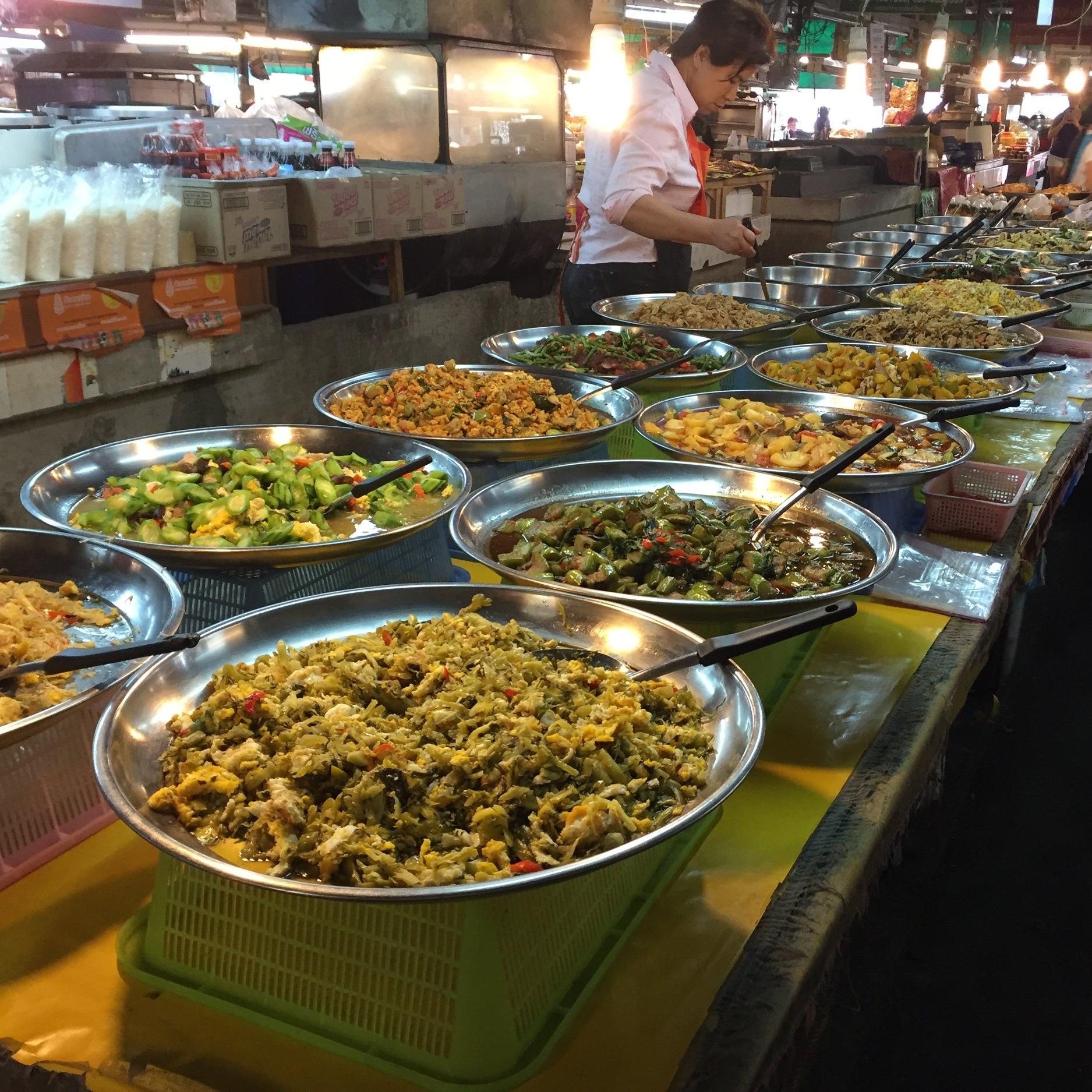 Chiang Mai local market