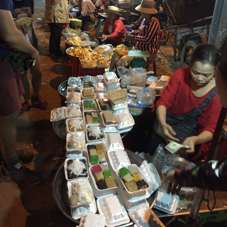 Siem Reap Local street market