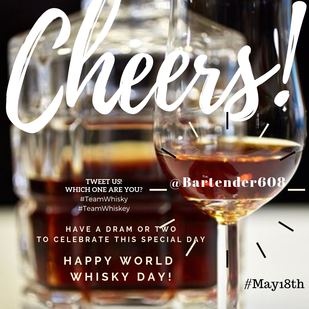 HAPPY WORLD WHISKeY day