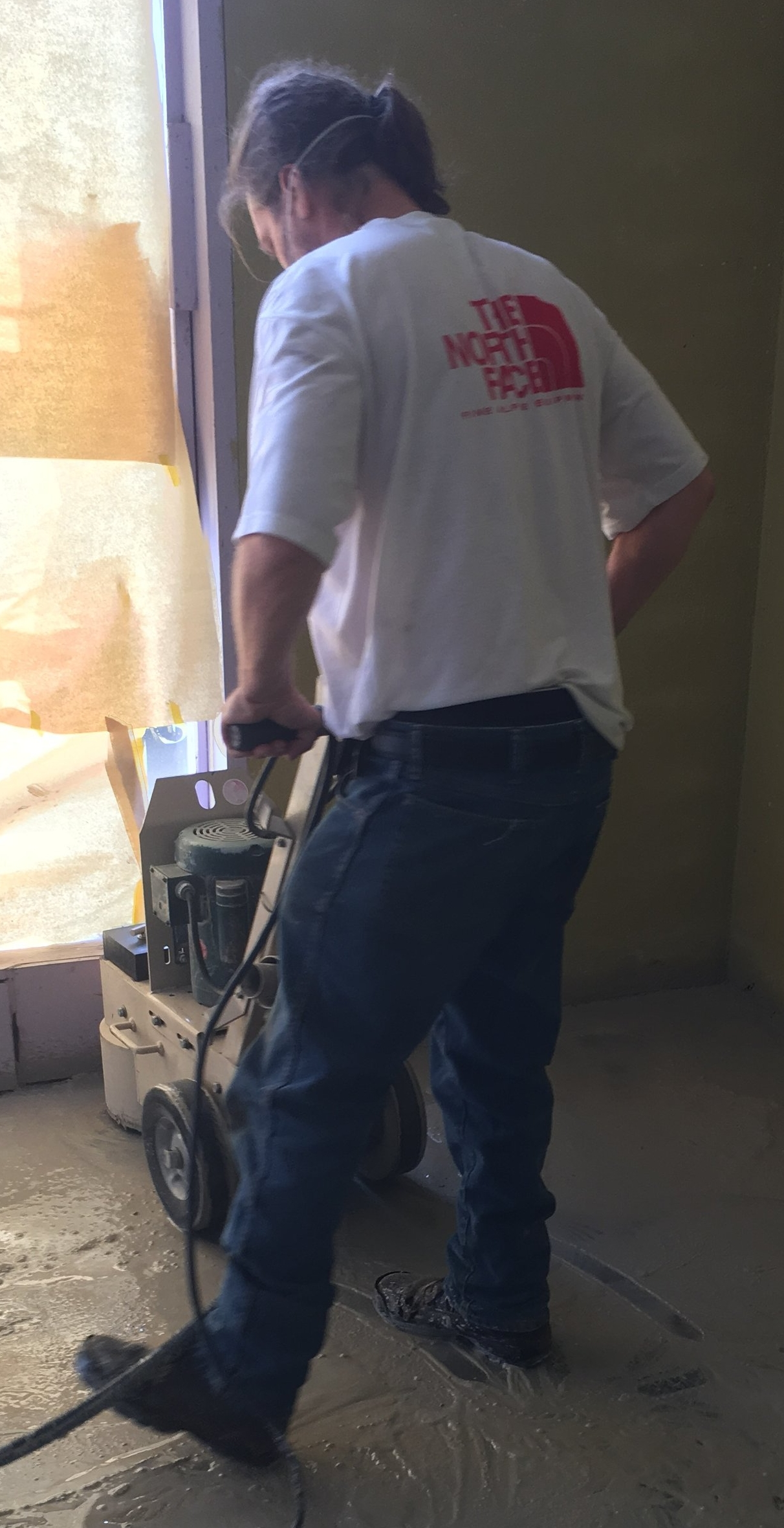 My hero working hard. Not sure what I would do without him. -