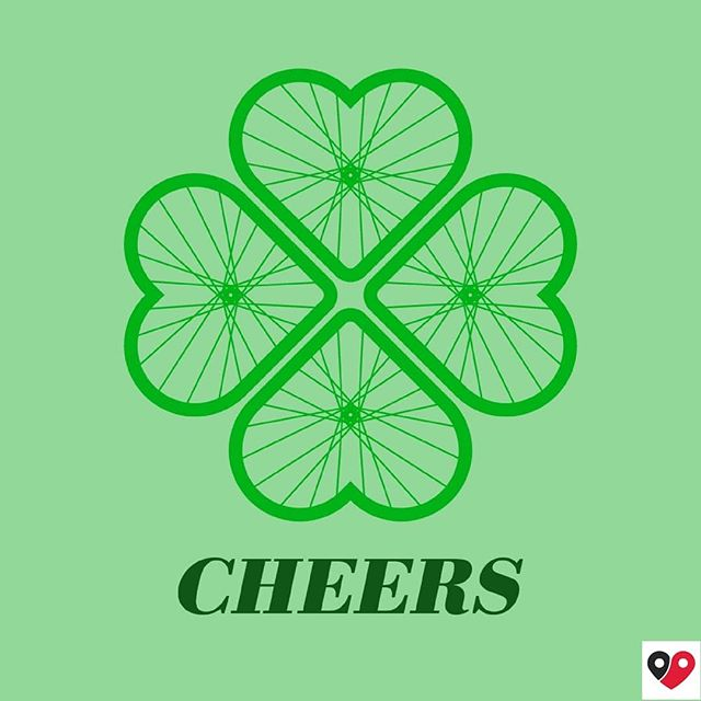 Happy St. Patrick's Day 🍀 🚲 ❤️ #biciamour #cyclinglife