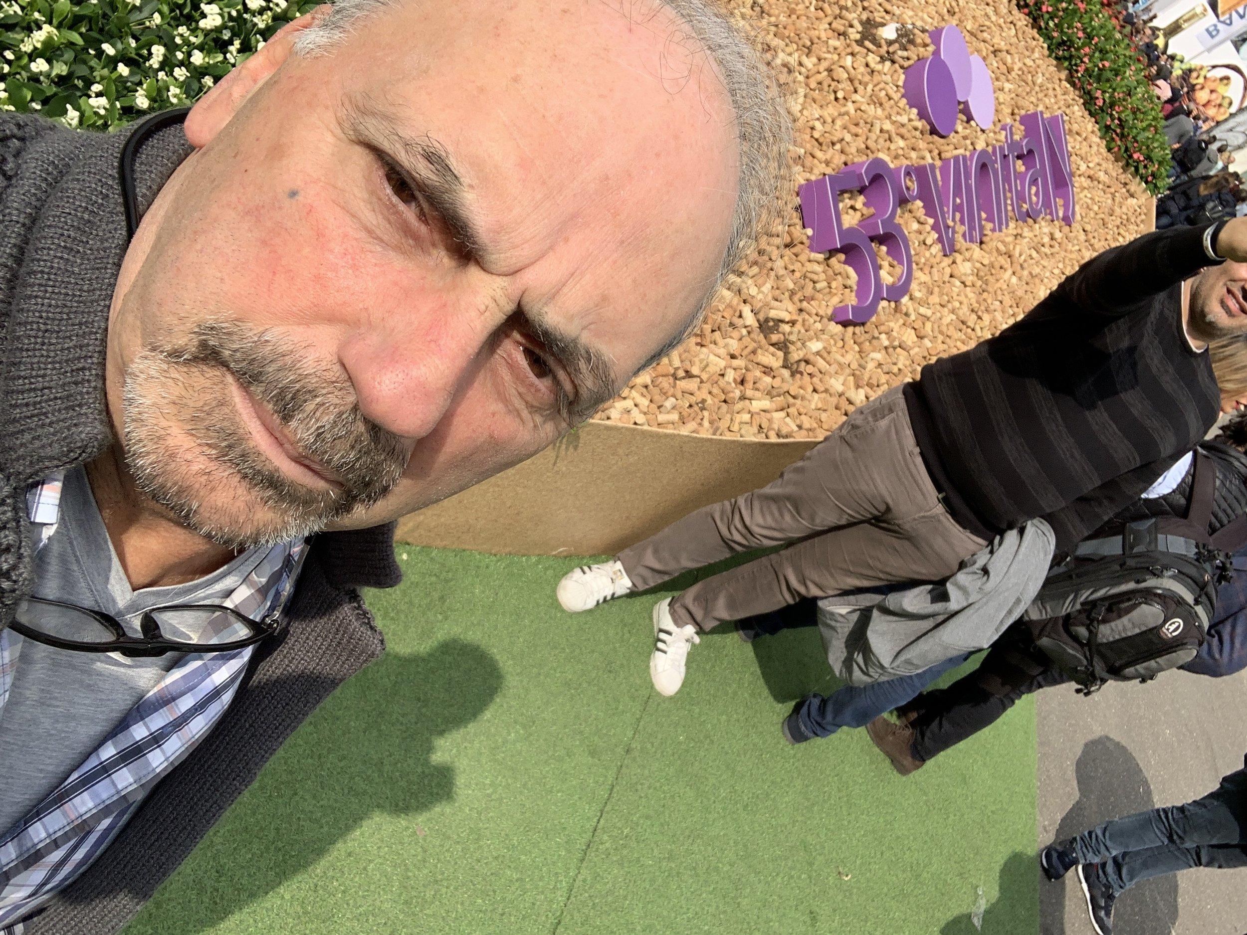 Obligatory Selfie at #vinitaly2019