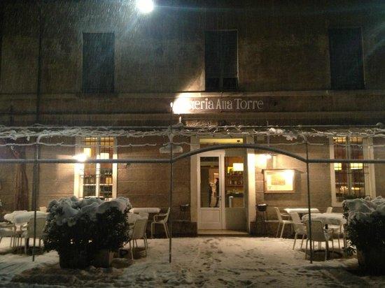 Brescia in the evening. 2019.