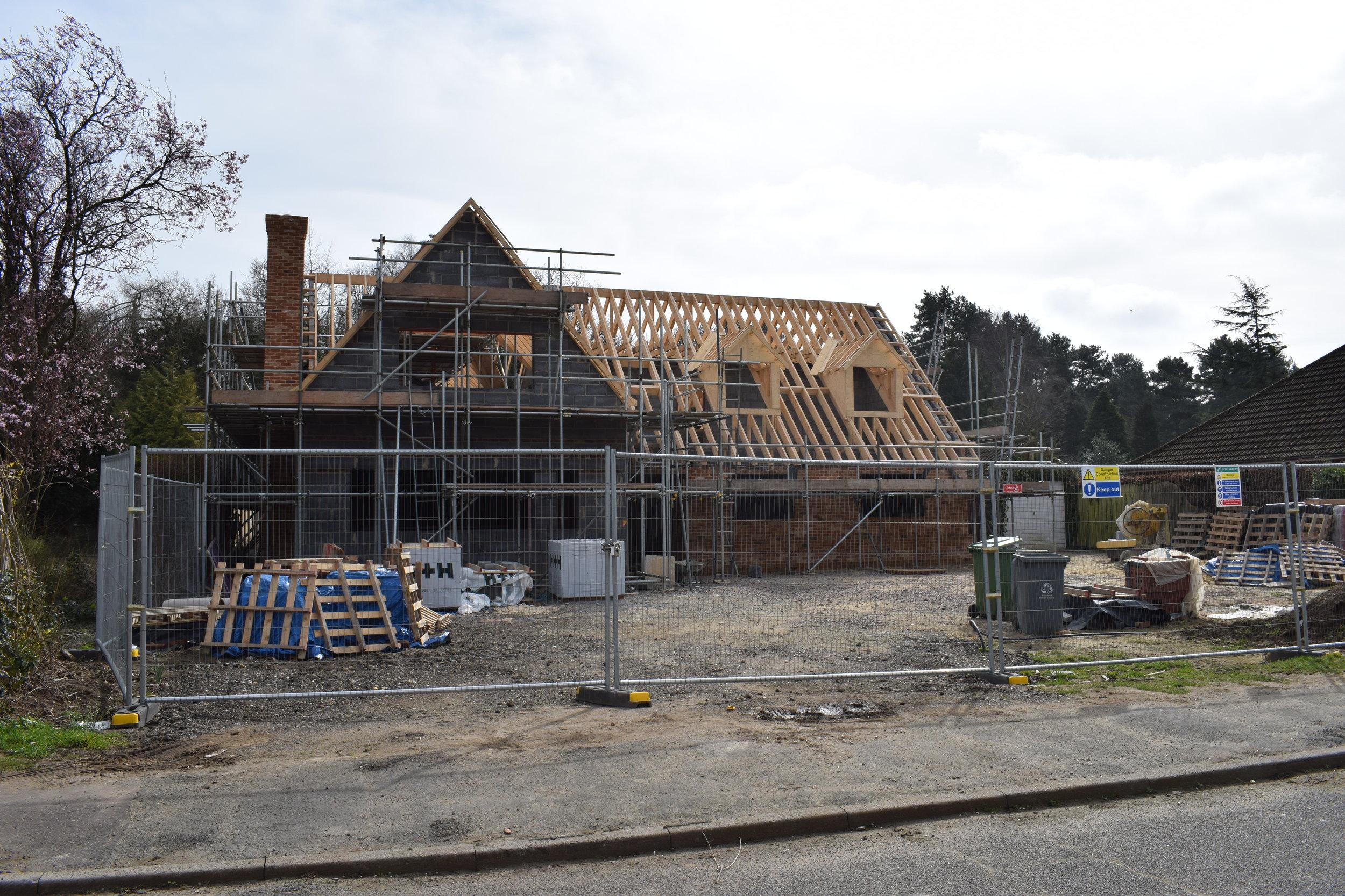 New House underconstruction