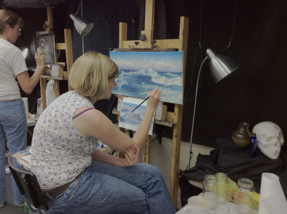 - An onsite art school specialising in classical techniques available for guests to view or even participate in.