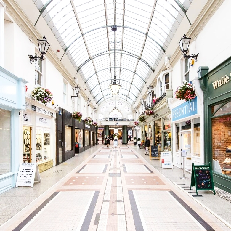 bournemouth shopping arcade
