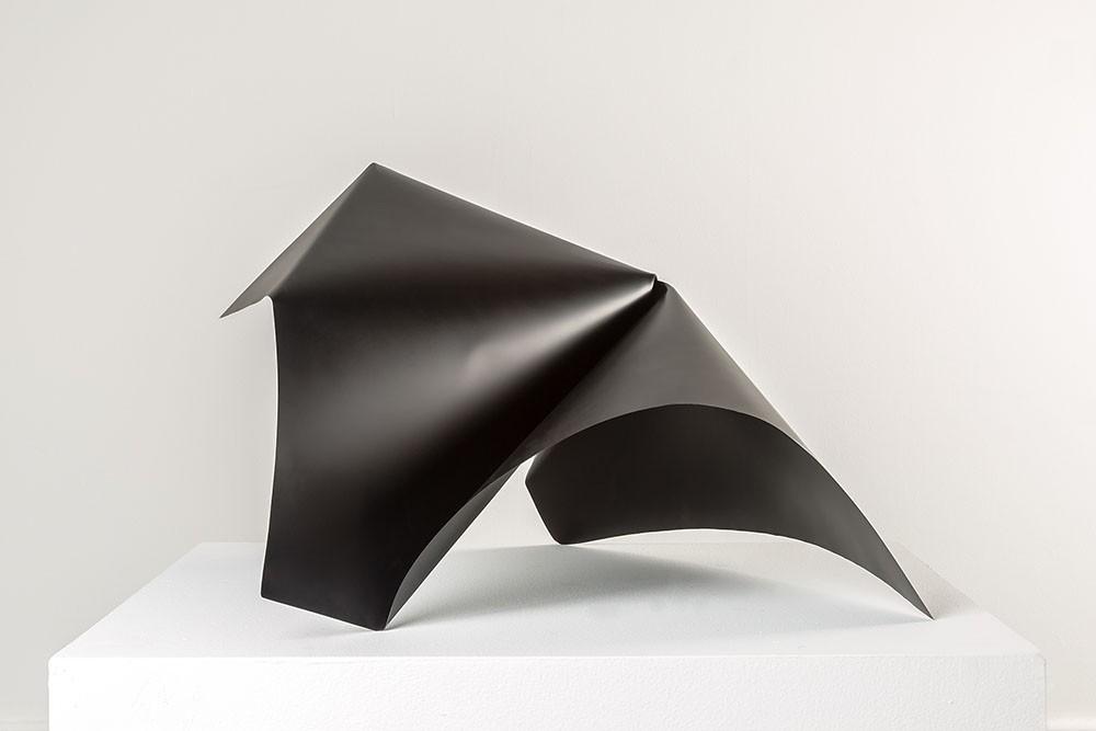 Alyson Shotz. Black Folds