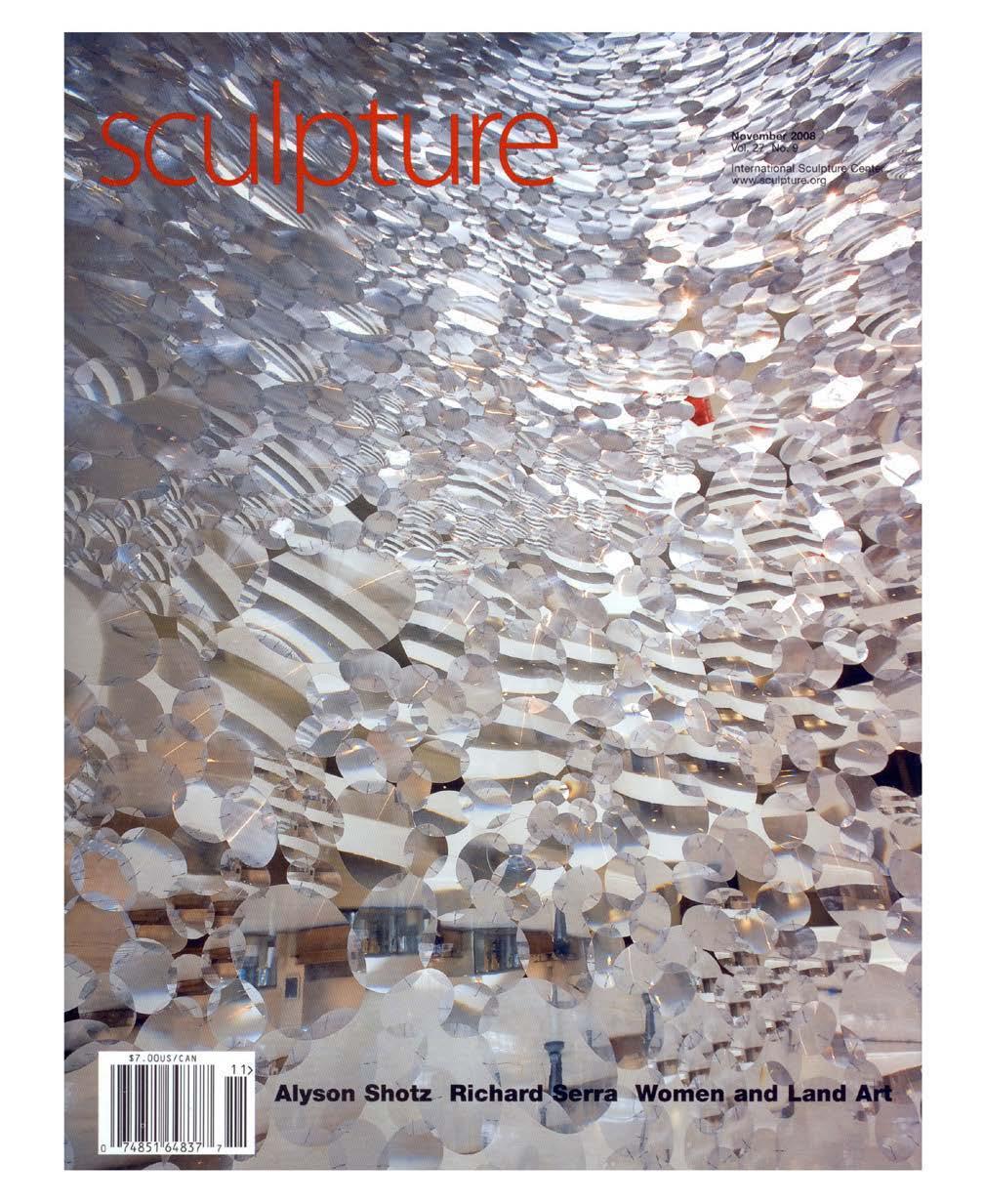 Sculpture Magazine: November, 2008