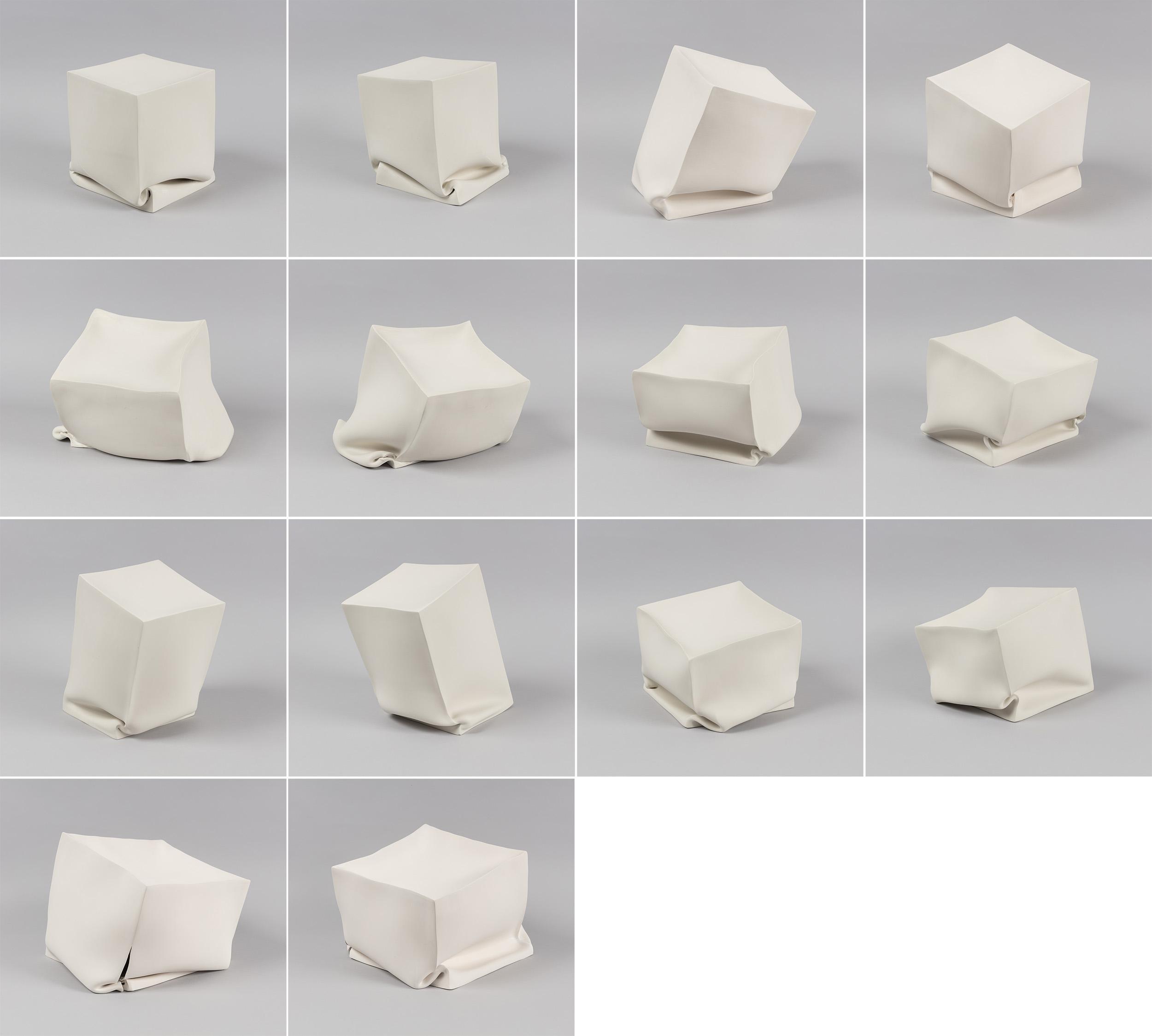 Recumbent Cubes, 2019