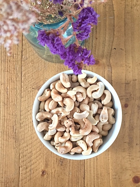 Cashews are the key to the filling!