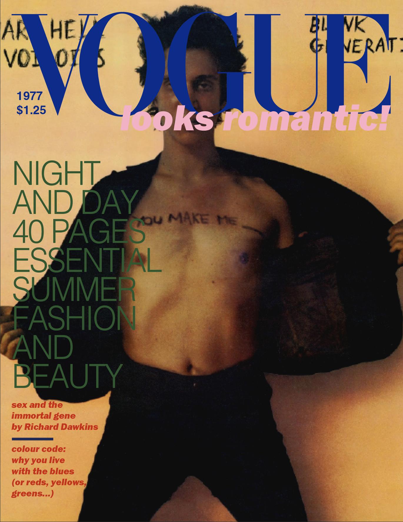 Richard Hell and the Voidoids/1977 British Vogue