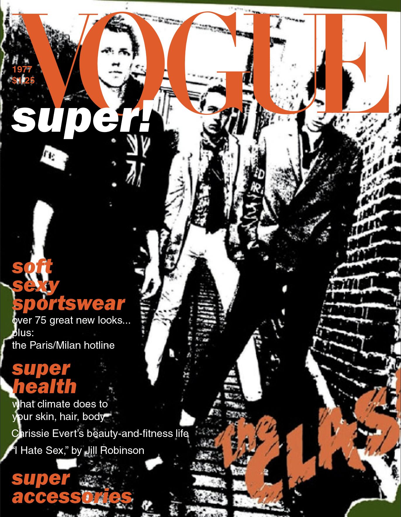 The Clash/ 1977 American Vogue