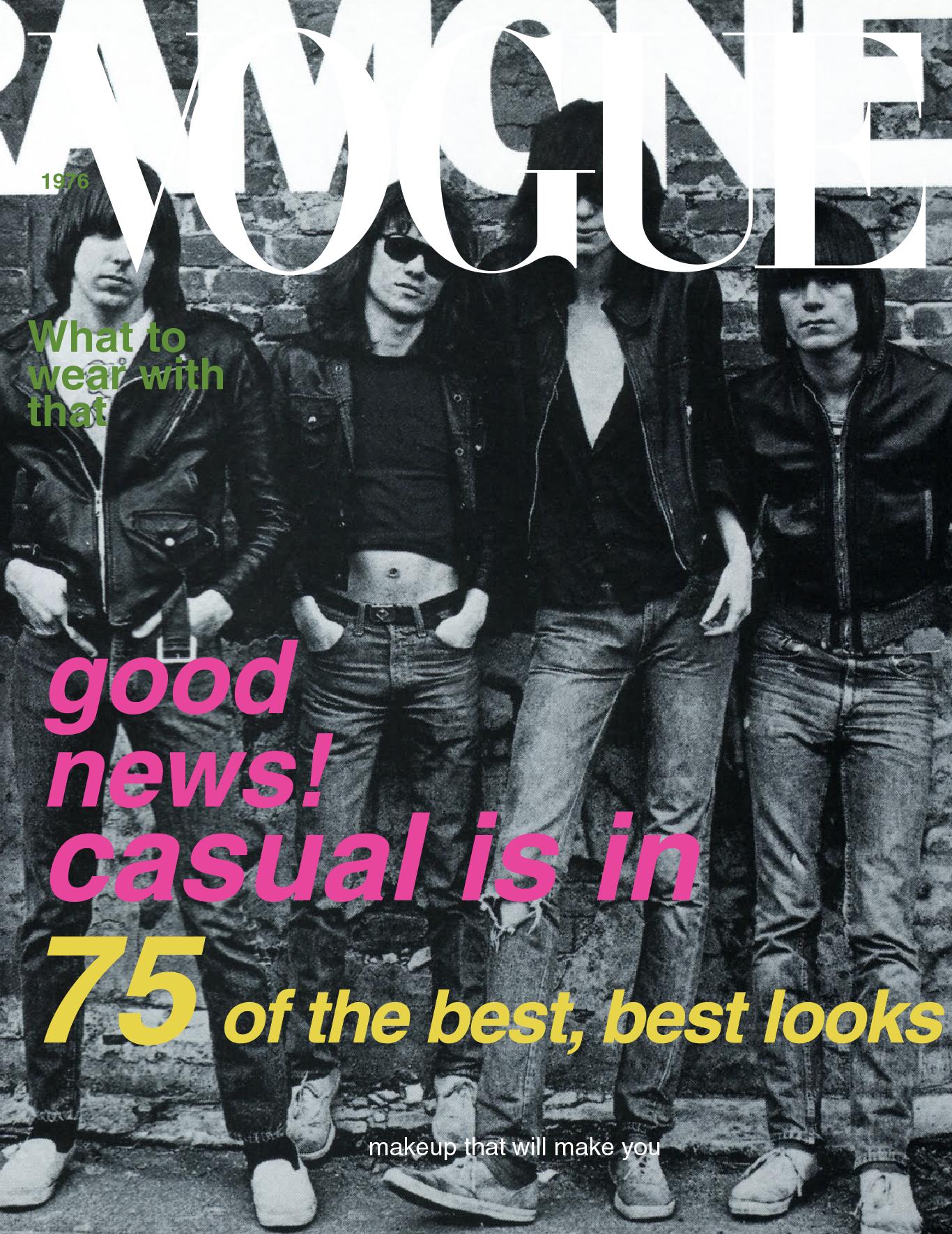 Ramones/ 1976 American Vogue