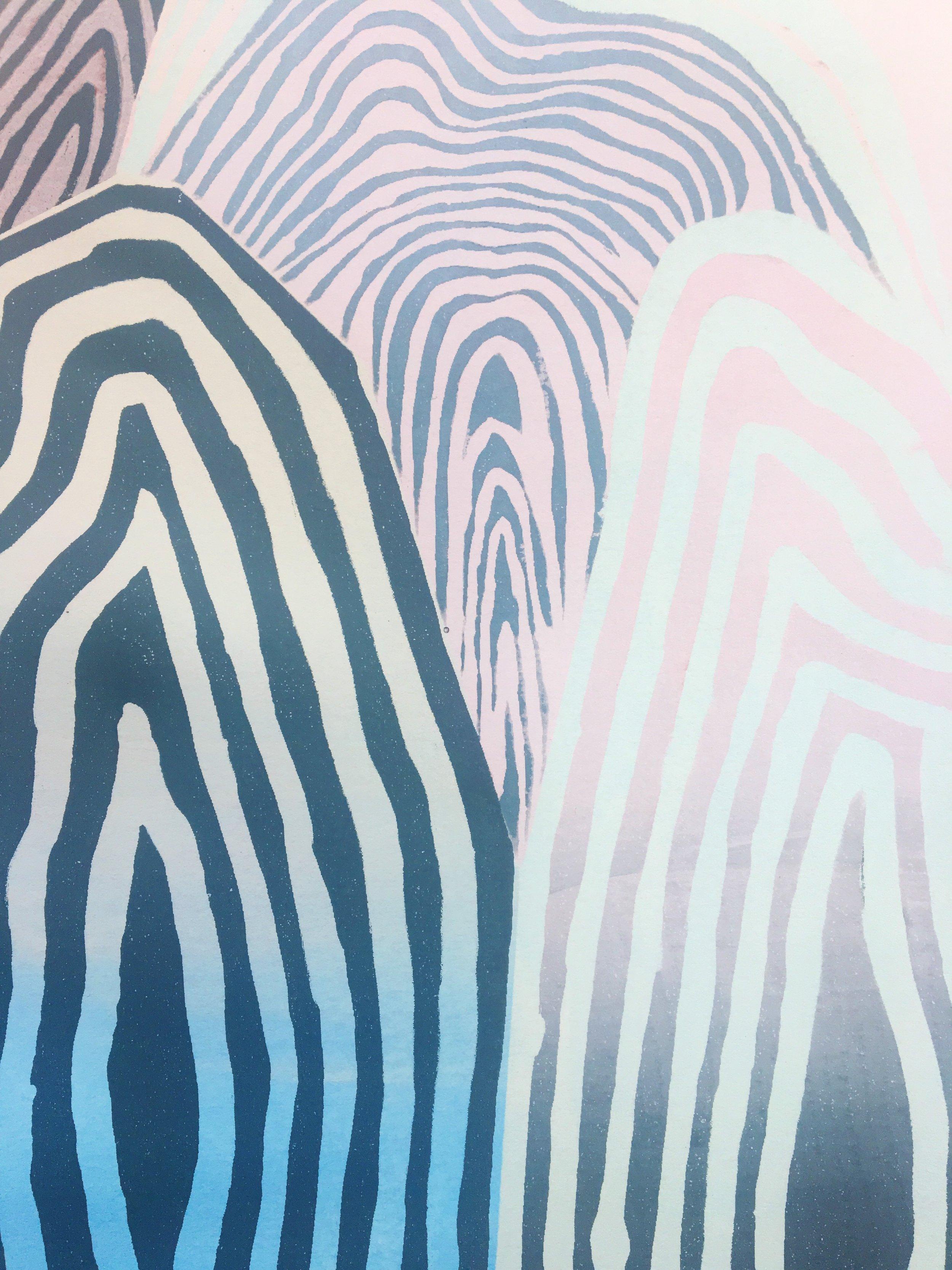 Silkscreen Print, Untitled, 4.9.18
