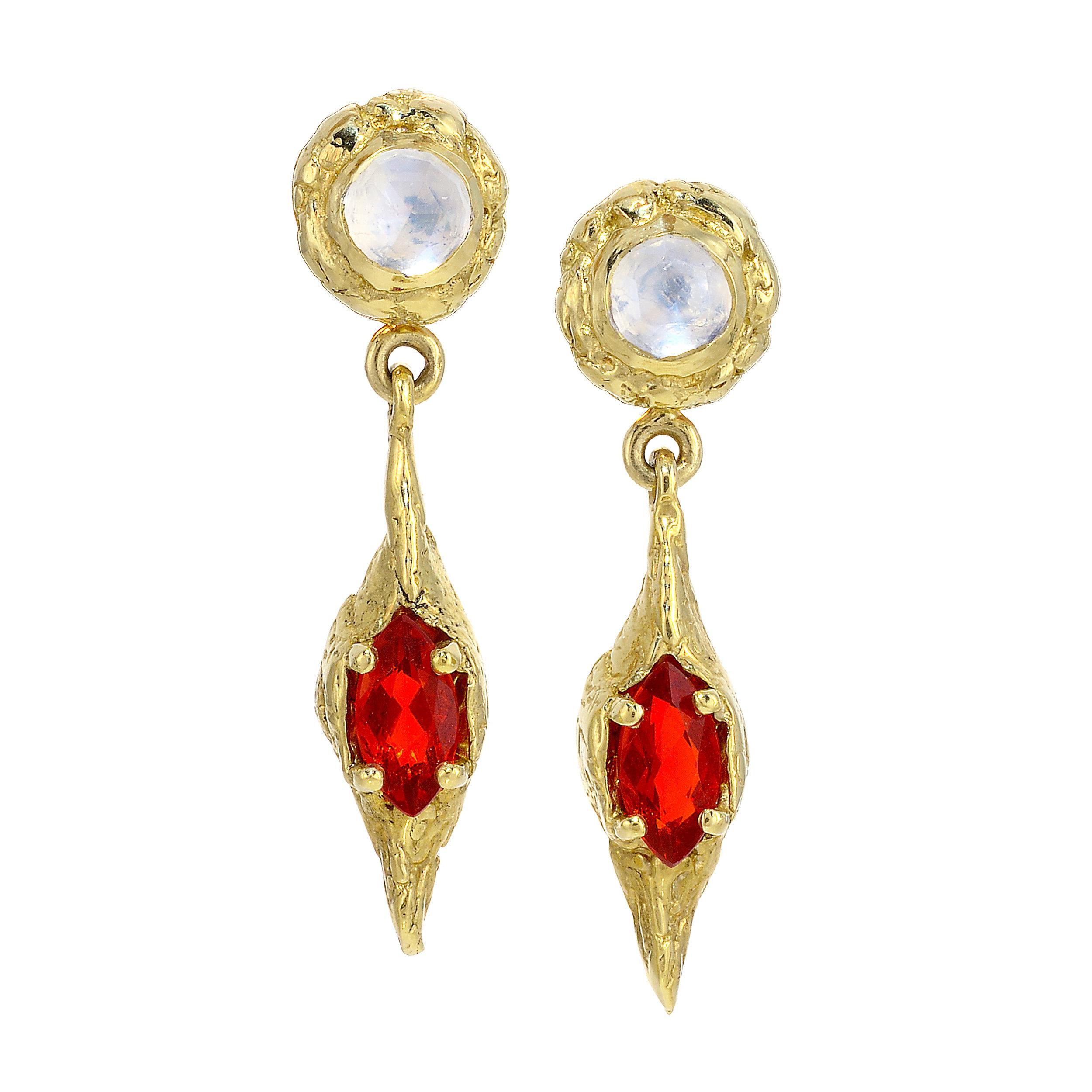 Fire Opal and Moonstone Earrings.jpg