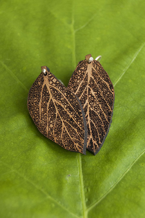 Andy Alter   Sage Earrings