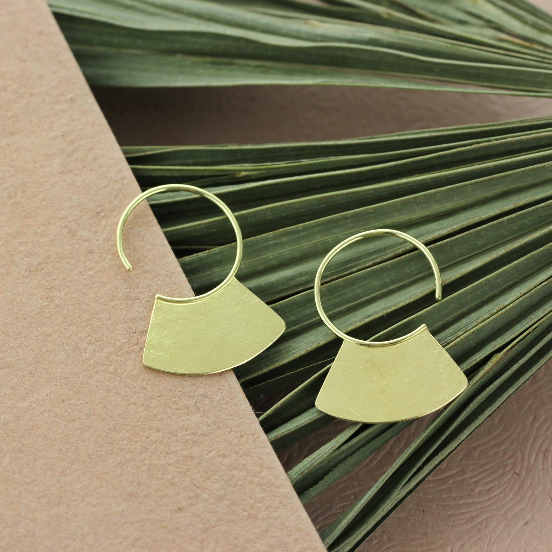 Sophie Hughes Mini Chop Hoops 18Ky  - Sophie Hughes.jpg