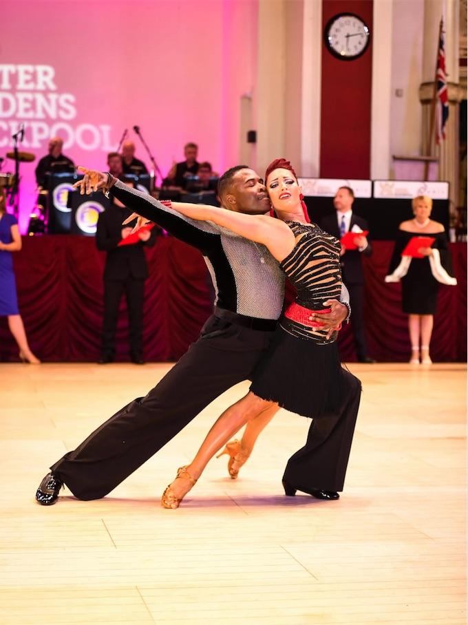 Jaki and Jean Michel, Blackpool Finalists 2018