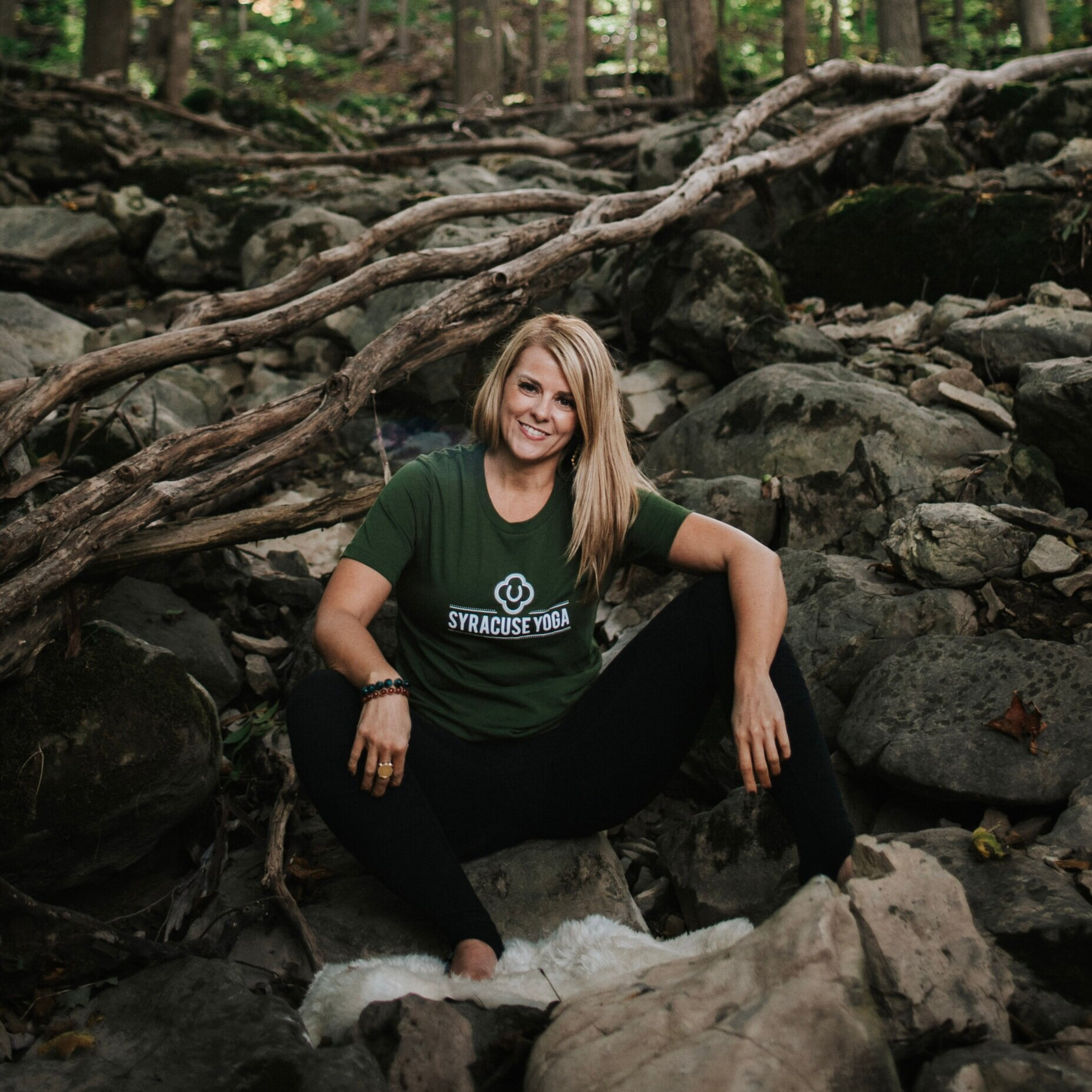 Olive Green unisex Syracuse YOga logo t-shirt - Unisex logo t-shirt in the prettiest green you have ever seen!Available in S-XLPurchase HERE, price includes shipping
