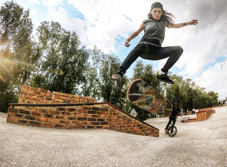 Founder of Girls Can Skate South Africa