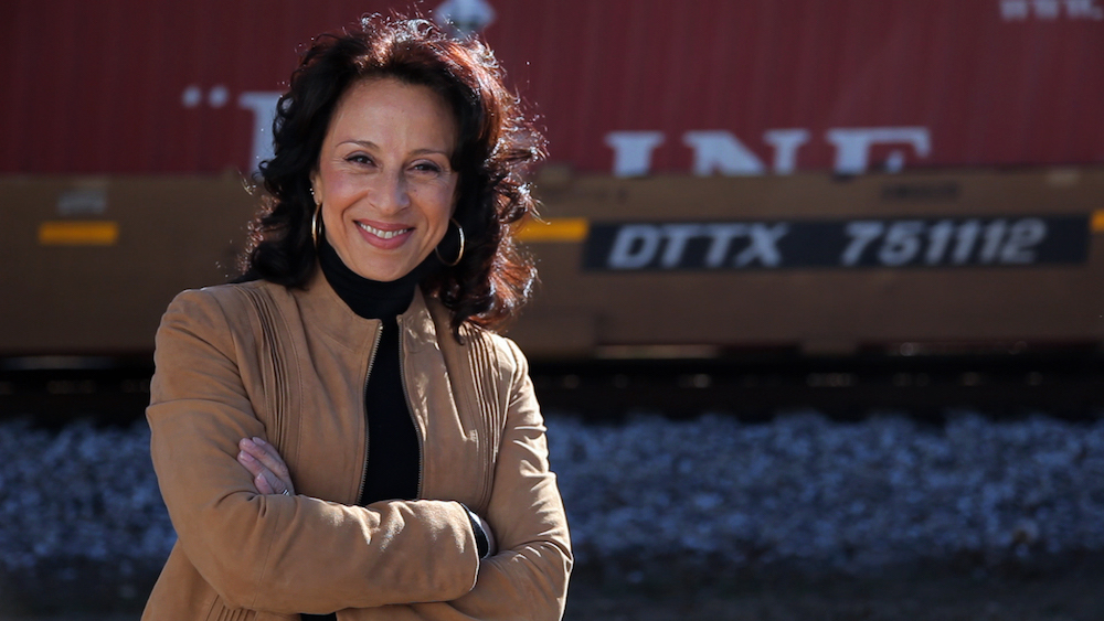 Maria Hinojosa. Photo by Paul de Lumen