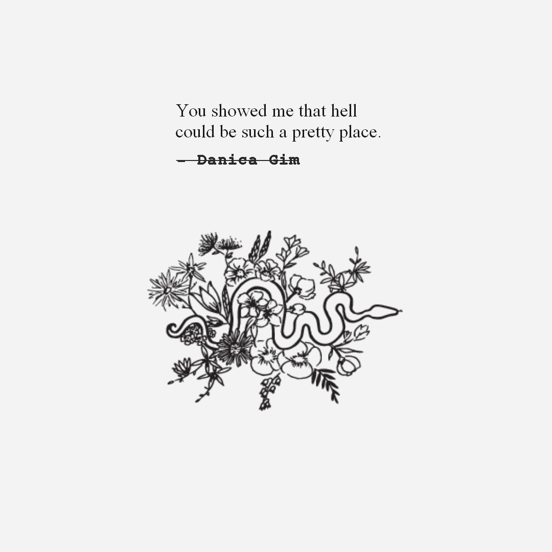 Hell.  Excerpt from 'Morningstar Musings' with illustrations of Gabrielle Moran.