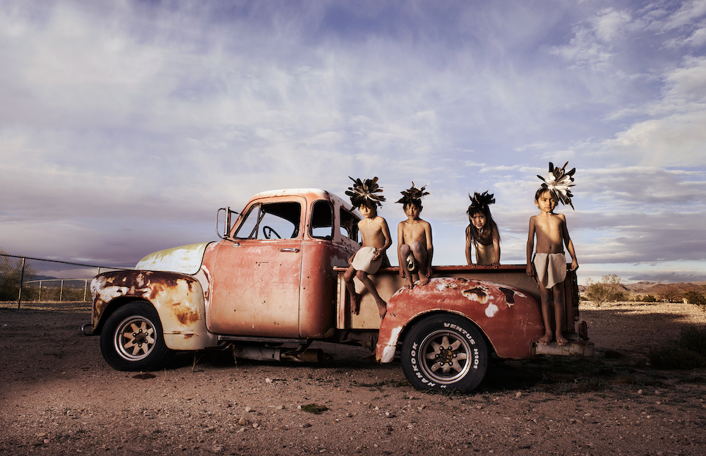 Cousins Truck. Photography by Cara Romero
