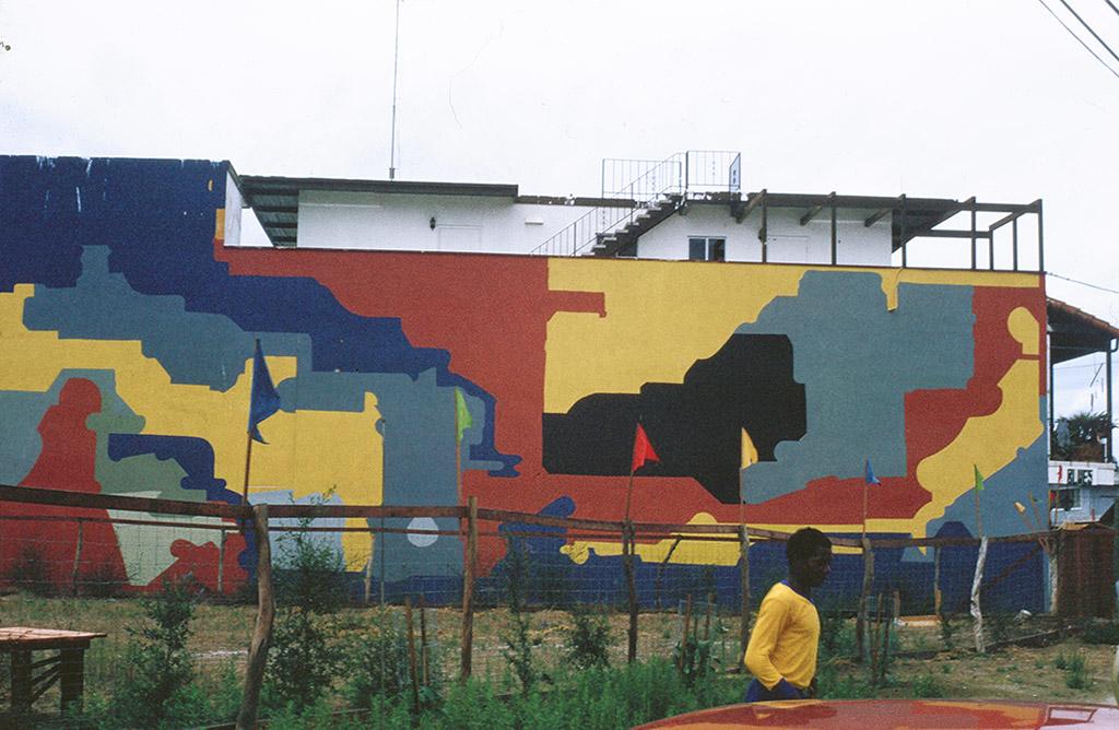 Leonard St.John, Outdoor Mural, 1971