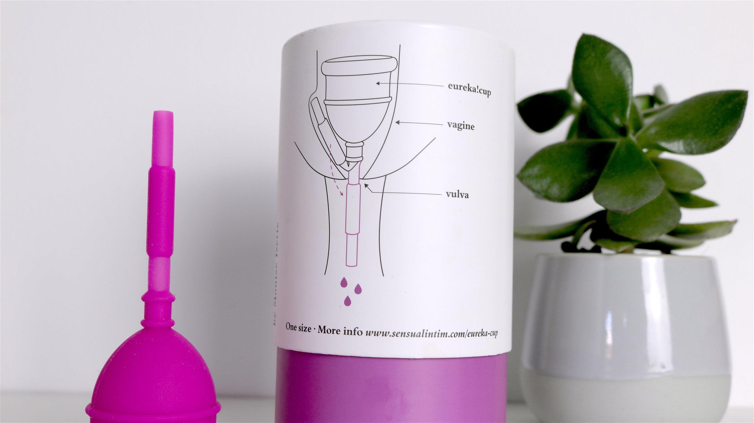 Podéis ver en el dibujo cómo queda la copa una vez introducida.