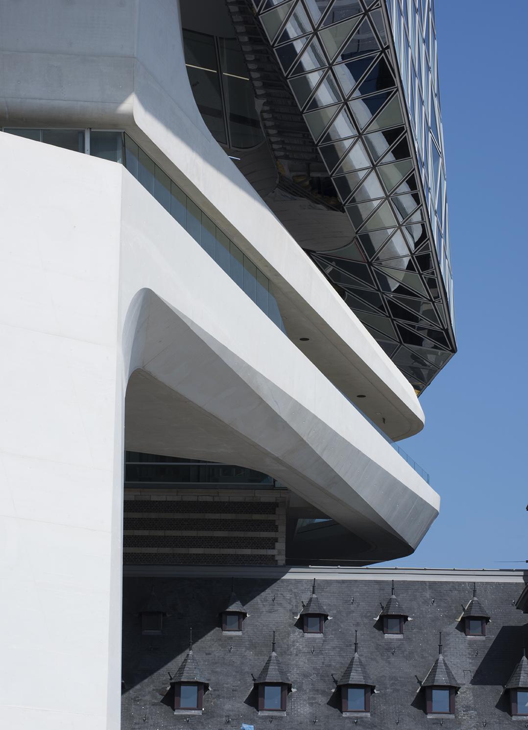 Detail of concrete structure