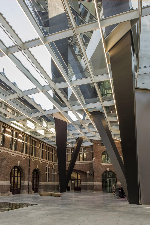 Antwerp Port House Atrium - Zaha Hadid Architects