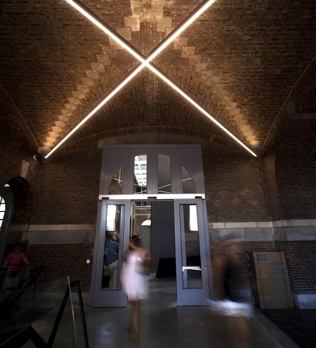 Antwerp Port House Main Entrance