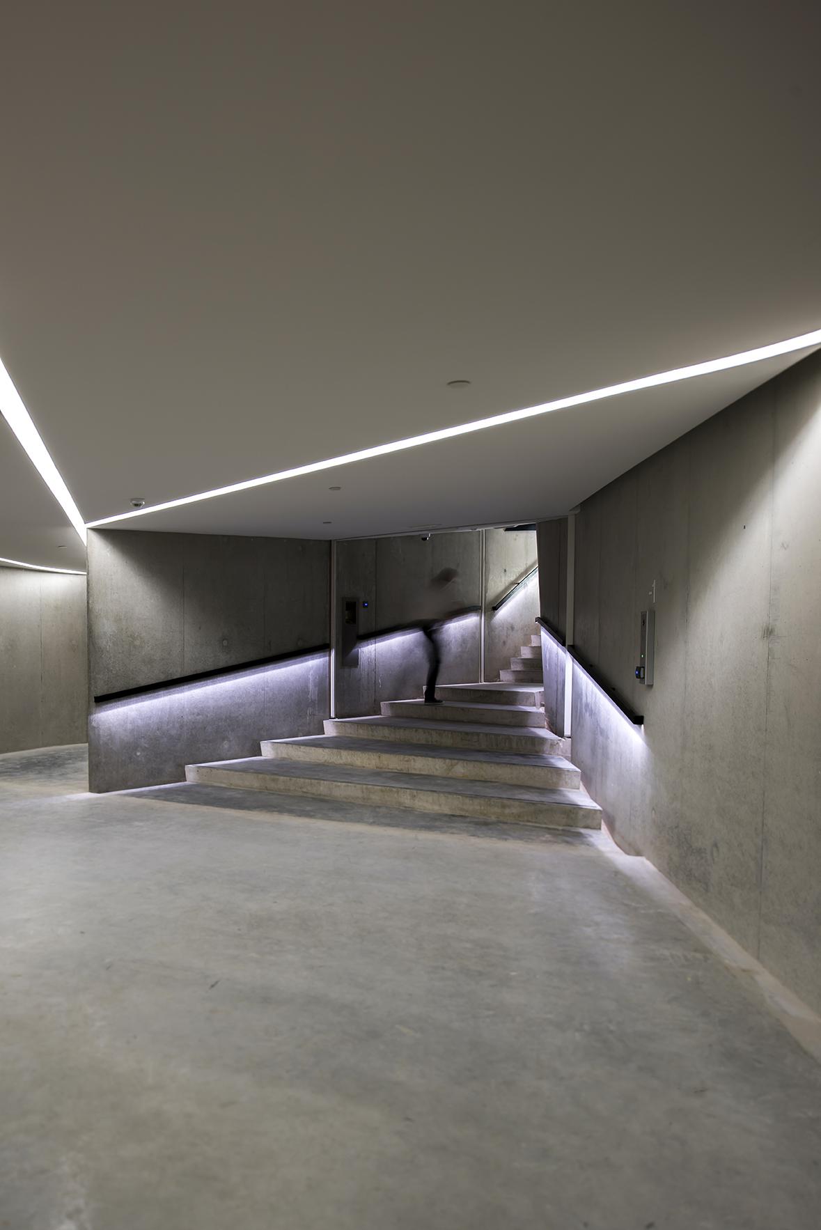 Garage Exit To Atrium