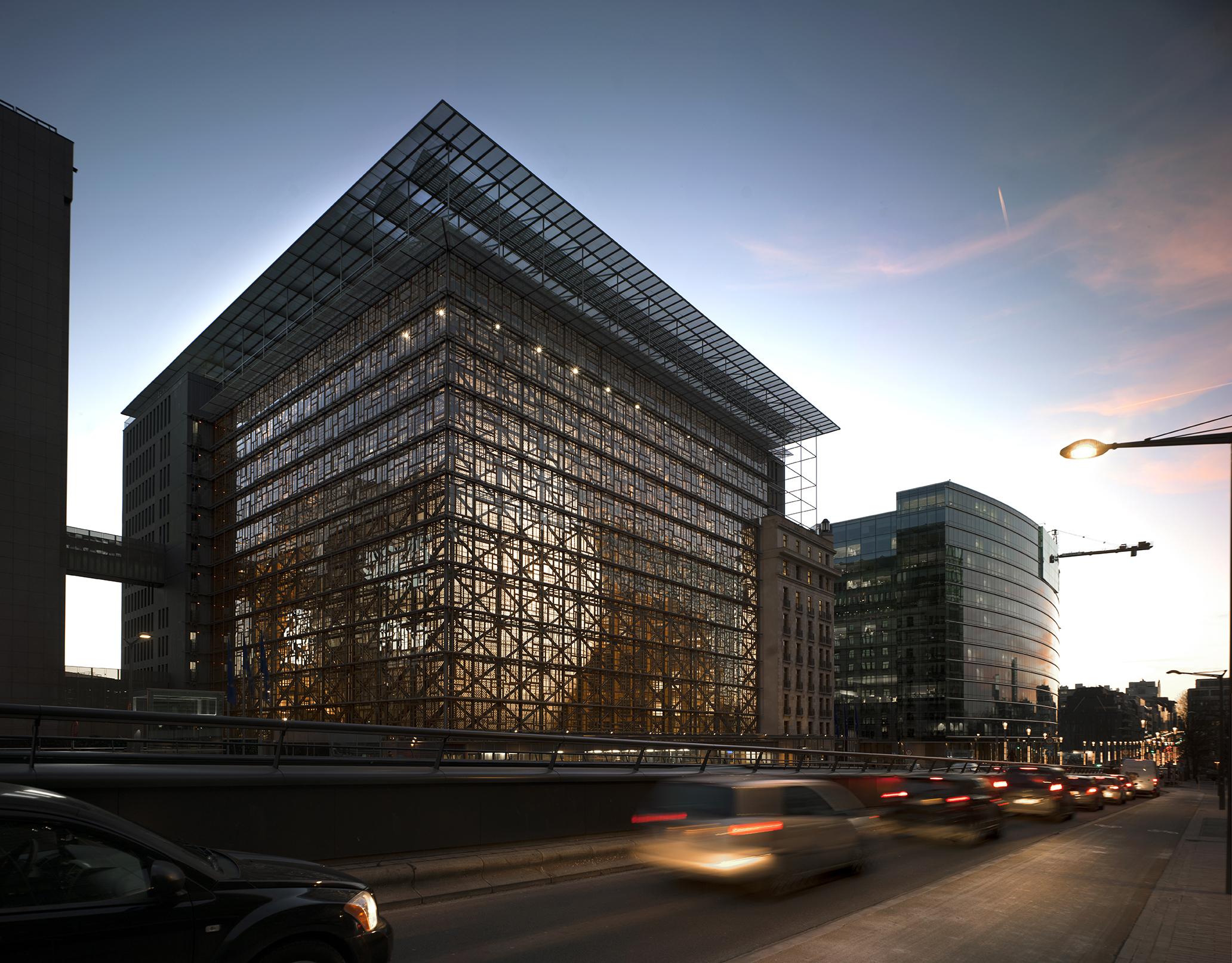 Europa Building, Brussels