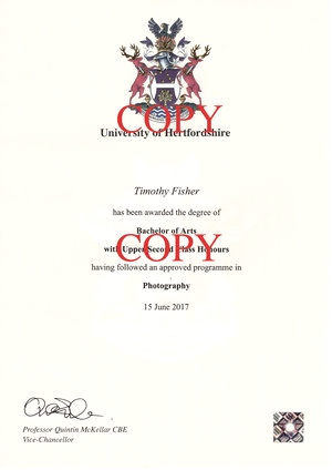 Bachelor Of Arts (Hons) In Photography