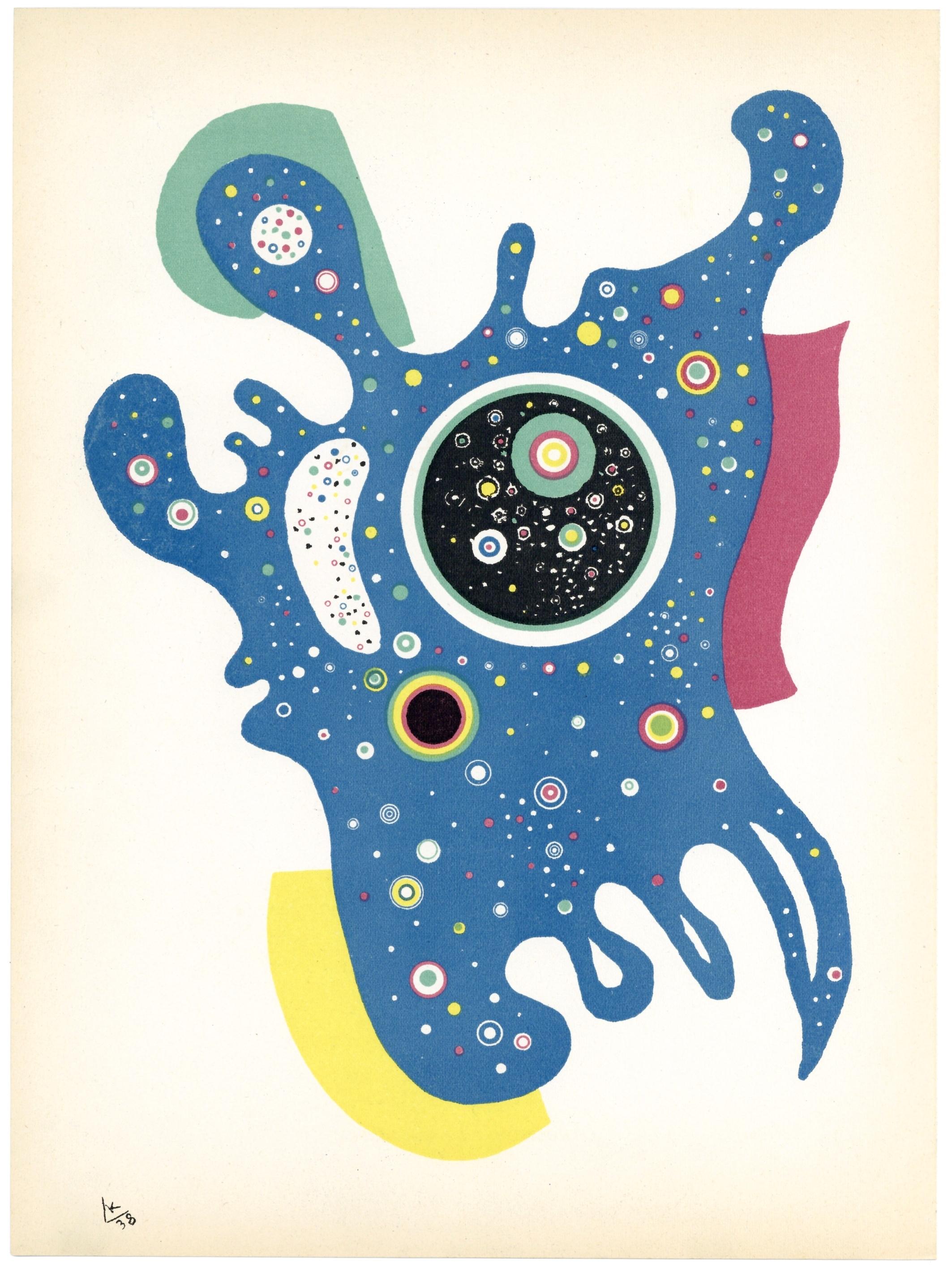 Wassily Kandisnky,  Stars,  1938
