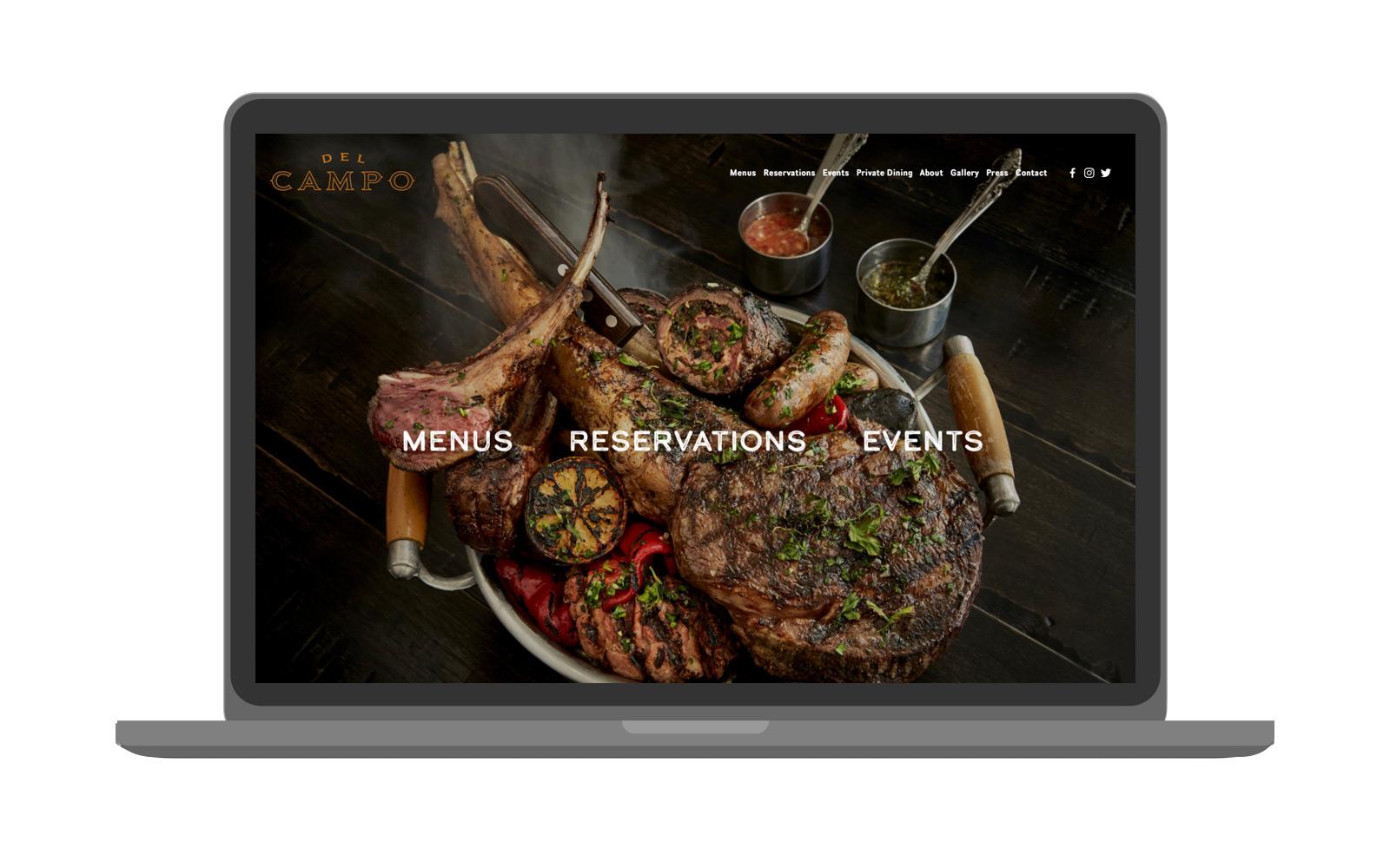 Del Campo | Website -