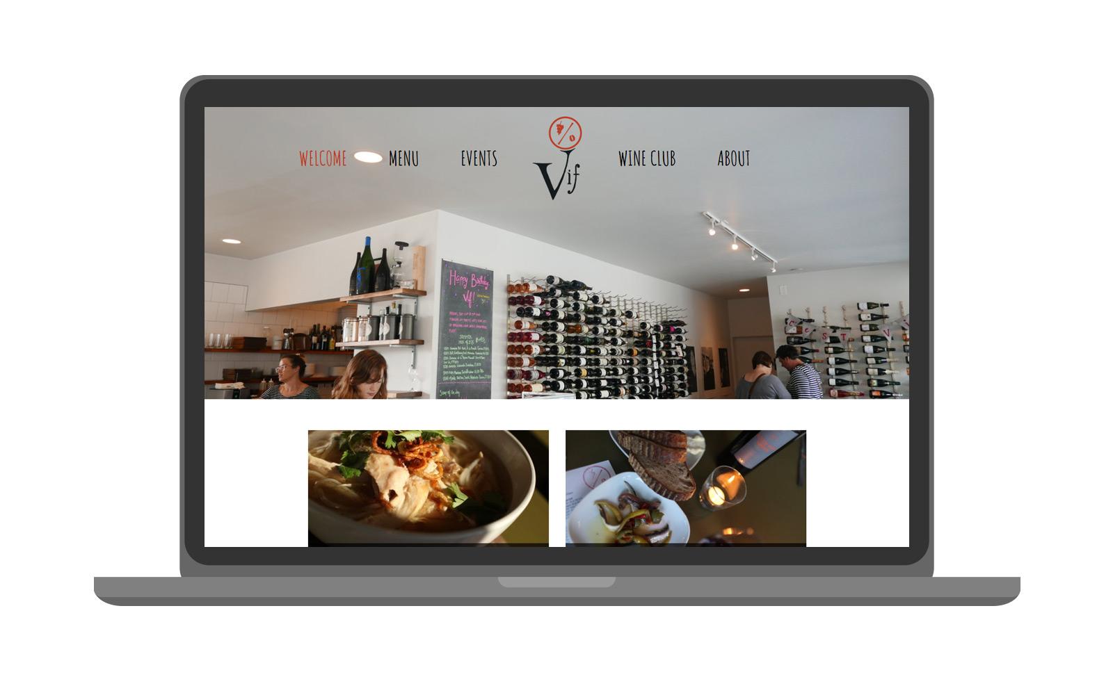 Vif | Website -