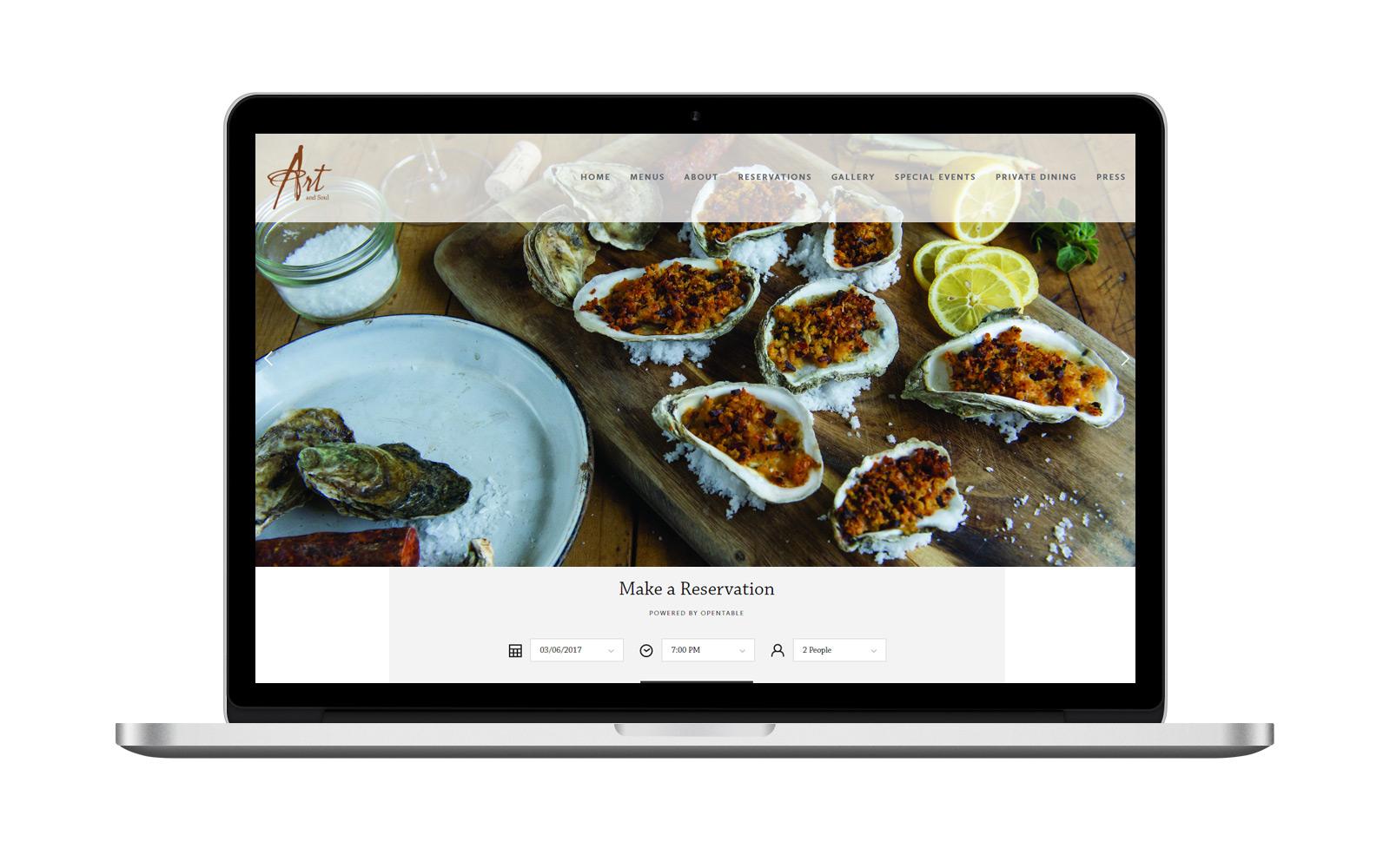 Art & Soul | Website -