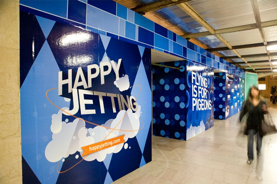 Who needs flying when you can have Happy Jetting?
