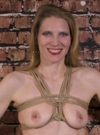 Chest harness tied with 6mm Twisted Monk hemp