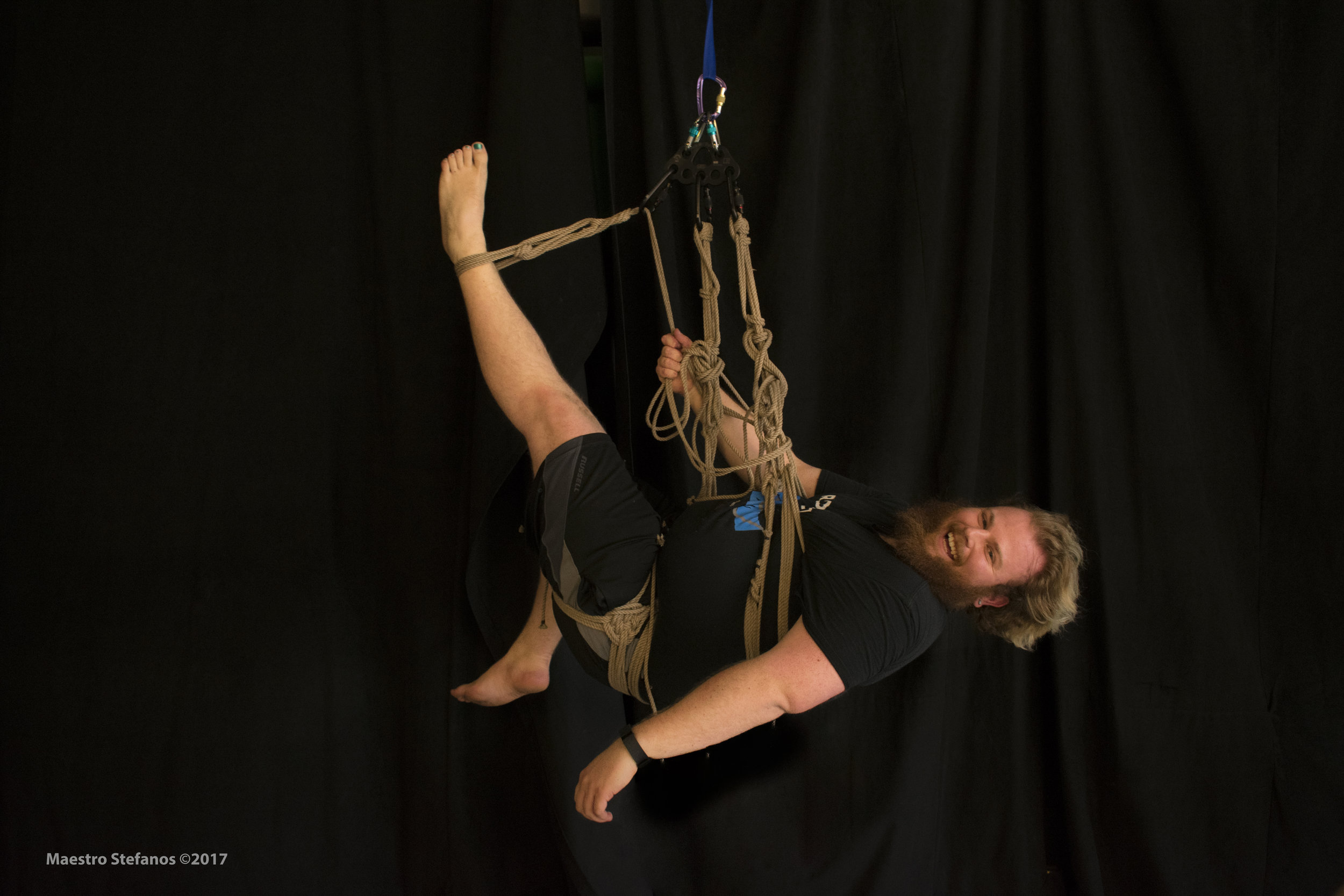 Alex T-Corn, photo by Stefanos at the  SF Self-Suspension Open Space