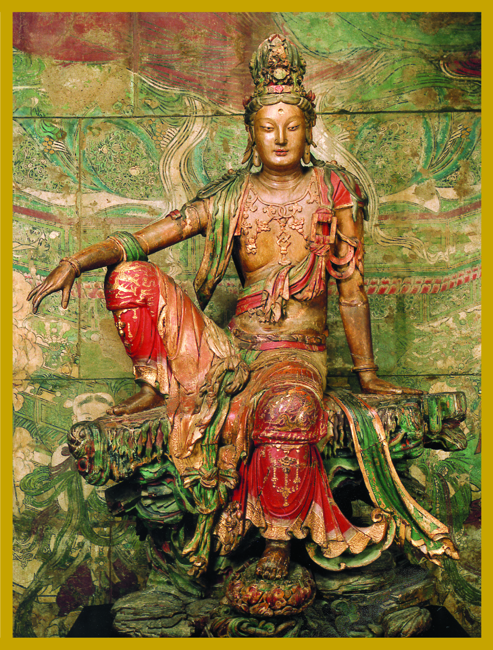 KY-WM - Water and MoonBodhisattva of CompassionKuan Shih Yin is the Bodhisattva of Compassion. Her Name means,