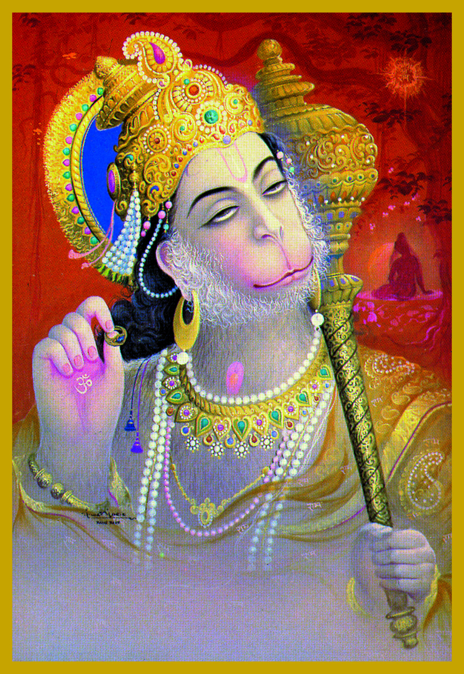 HAN - HANUMANGod of Loyalty, Devotion and ServiceThe monkey god Hanuman embodies Devotion and Service -- he was Lord Rama's brave and loyal general. He is Love In Action!Hanuman inspires us to develop strength and purity to become Perfect Servants to the Divine.