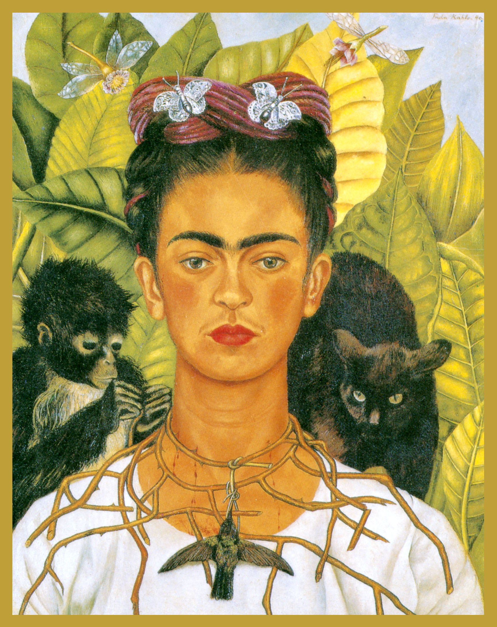 FR-KA - Frida KahloBeloved and influential Mexican painter of the middle twentieth century.